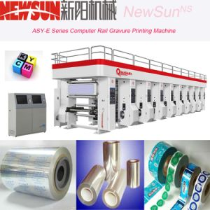 Asy-E Series Computerized Rail Aluminum Foil Gravure Printing Machine pictures & photos