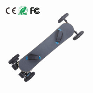 Wholesale off Road 4 Wheels Electric Skateboard with Remote Control pictures & photos