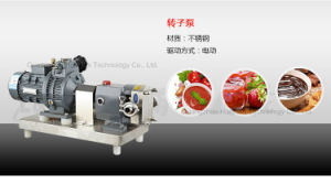 High Quality Food Sanitary Stainless Steel Rotary Lobe Pump for Chocolate pictures & photos