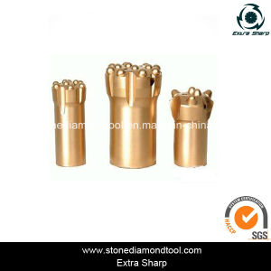 34mm Rock Drill Taper Button Stone Mine Tapered Drill Bit pictures & photos