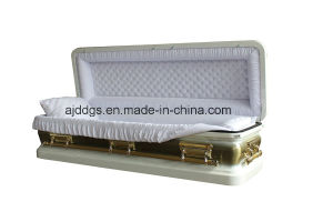 White Full Couch Coffin (16179044-F) pictures & photos
