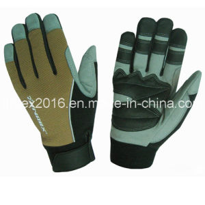 New Design Mechanical Promotion Safety Construction Working Gloves pictures & photos