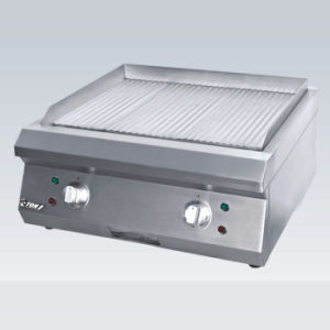 Full Grooved Electric Griddle pictures & photos