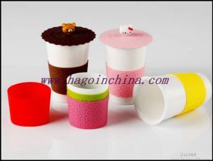 Food Grade Heat Resistant Silicon Rubber Bottle Sleeve pictures & photos