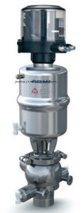 Sanitary Stainless Steel Pneumatic Single Seat Mix-Proof Valve