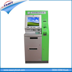 Medical Multifunction Self Service with Report Printing Kiosk pictures & photos