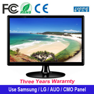 "18.5"" HD LED Monitor for Computer Ultral Thin LED Display 18.5 Inch pictures & photos"