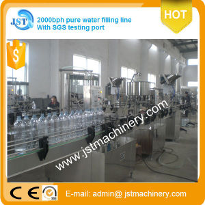 Small Scale Linear Type Water Filling Production Line pictures & photos