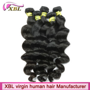 Loose Wave Unprocessed Raw Virgin Peruvian Hair pictures & photos