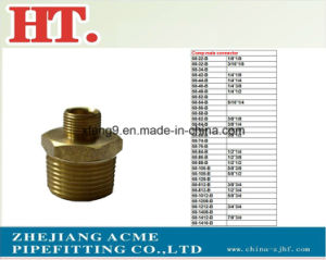 American Forged Brass Comp Male Connector Fitting pictures & photos