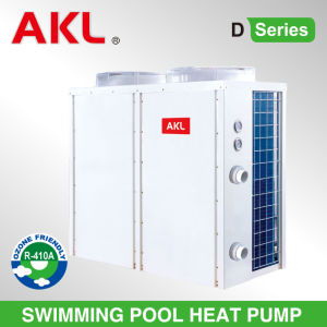 Small Air to Water Swimming Pool Heat Pump Water Heater pictures & photos