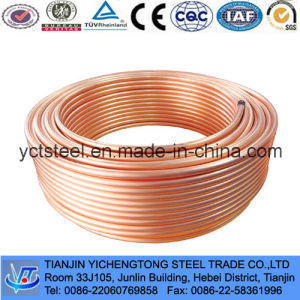 Air Conditioner Capillary Copper Tube and Pipe C1200 pictures & photos