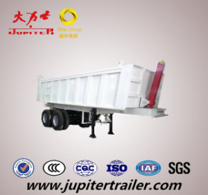 Hot Selling 11.3m Tipping Semi Trailer with Fuwa Axle