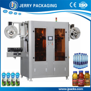 Automatic Round & Square Bottle Shrink Sleeve Label Labeling Machinery pictures & photos