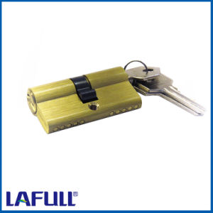 54mm Euro Type Security Brass Door Lock Cylinder