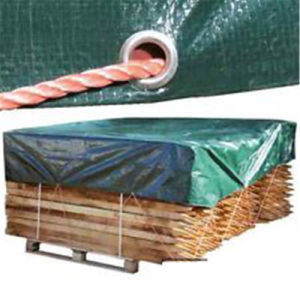 Made in China 130GSM PE Material Tarpaulin for Firewood Cover pictures & photos