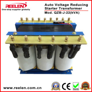 22kVA Three Phase Auto Voltage Reducing Starter Transformer (QZB-J-22) pictures & photos