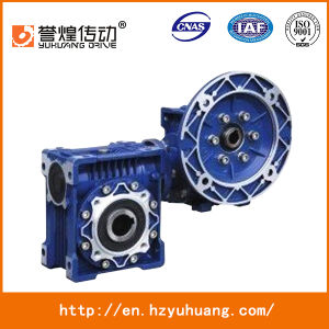 Right Angle Gearbox Nmrv+Nmrv Aluminum Double Gearbox Nmrv Machine Gear Box pictures & photos