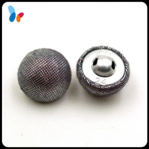 Dome Metal Fabric Cover Shank Button pictures & photos