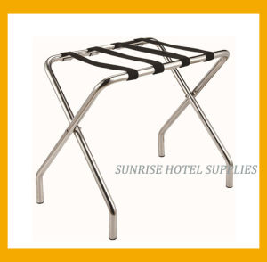Sliver Chrome Luggage Rack for Hotel pictures & photos