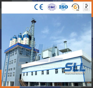 Semi-Automatic Dry Powder Tile Adhesive Mortar Production Line Plant pictures & photos