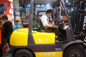 Niuli Best Sell Eletric Forklift Truck pictures & photos
