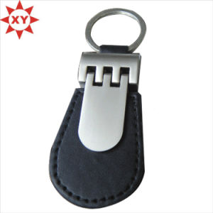 Factory Directly Sell High Quality Leather Keychain pictures & photos
