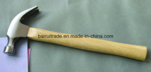 16oz American Type Claw Hammer with Wooden Handle pictures & photos