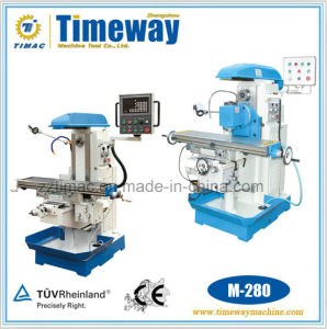 Economical Horizontal Multi-Functions Knee-Type Milling Machine (M-280A M-280C) pictures & photos