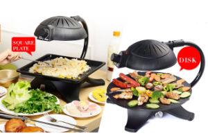Korean Teppanyaki Smoke-Free Non Stick Pot Barbecue Machine (ZJLY) pictures & photos