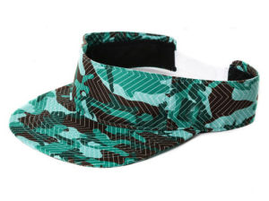 Fashion Unisex Green Camo Cotton Sun Visor Hat (with your Embroidery logo) pictures & photos