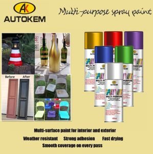 450ml Spray Paint, Fast Dry Spray Paint, Multi-Color pictures & photos