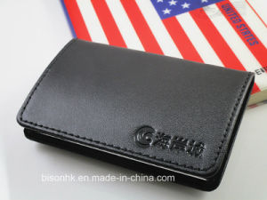 Genuine Leather Business Card Holder pictures & photos