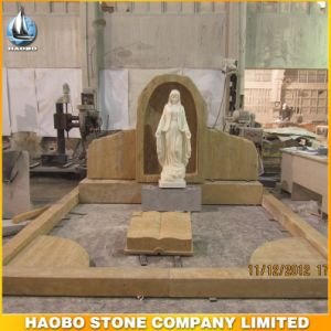 Wood Sandstone Monument with St. Mary Statue pictures & photos