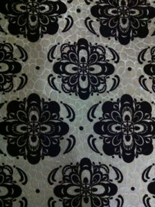 China Flock Upholstery Fabric for 2015 pictures & photos