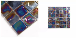 48X48mm Metallic Blend Shade Glass Mosaic