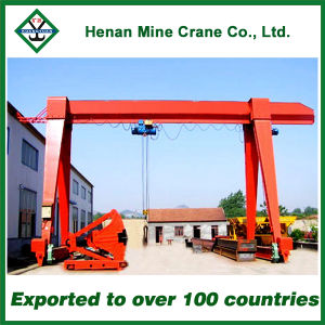 Single Girder Hoist Gantry Crane 5ton pictures & photos