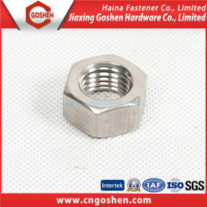 Stainless Steel Hex Nut DIN934 / Ss304 Hexagon Nut pictures & photos