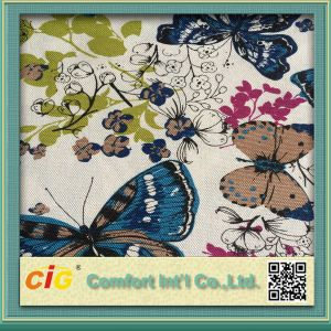 Hot Sell Paper Print Sofa Fabric pictures & photos