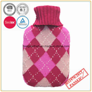 Hot Water Bottle with Knitted Cover pictures & photos
