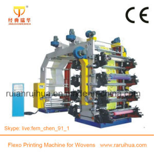 Multi Color Paper Flexographic Printing Machine pictures & photos