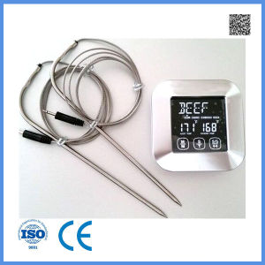 Amazon Hot Waterproof Oven Use Digital Kitchen BBQ Food Cooking Thermometer pictures & photos