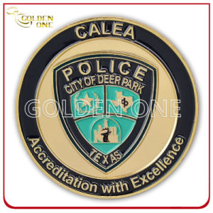 Soft Enamel Custom Us Police Office Souvenir Coin pictures & photos