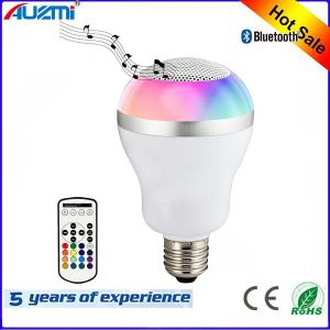 Colorful Bulb LED Light Bluetooth Speaker