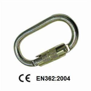 Steel Quick-Lock Carabiner (JE5047) Ce En362 pictures & photos