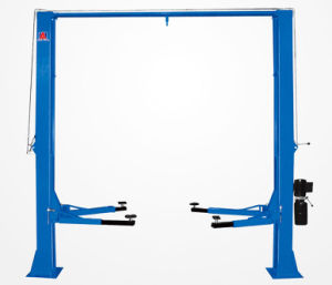 Two Posts Auto Lifting Machine Manual Lock Release YSJ3.5