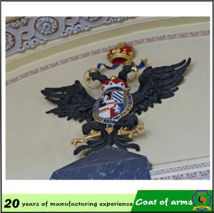 Custom Design 3D Metal Emblem for Building pictures & photos