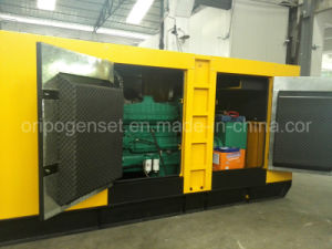 50kVA/40kw Silent Type Diesel Generator Set with ATS pictures & photos
