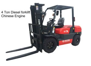 4.0 Ton Diesel Forklift Truck with Chinese Engine pictures & photos