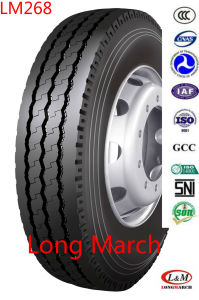 305/70R19.5 Cheap Longmarch 1100r20 Chinese Radial Truck Tyre (LM268) pictures & photos